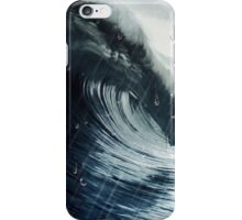 Ola y lluvia iPhone Case/Skin