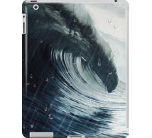 Ola y lluvia iPad Case/Skin