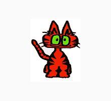 Dark Orange Tiger Cat Unisex T-Shirt