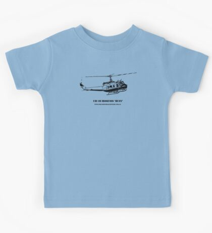 Huey Helicopter Graphic Kids Tee