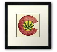 Colorado Dank Logo Framed Print