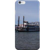 The Ms. Dixie II on Lake Tahoe iPhone Case/Skin