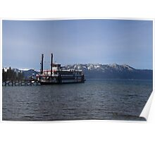 The Ms. Dixie II on Lake Tahoe Poster