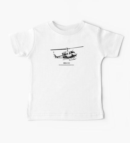 Bell 212 Helicopter  Baby Tee