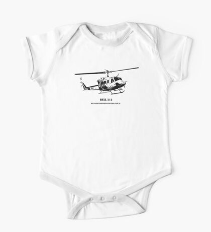Bell 212 Helicopter  One Piece - Short Sleeve
