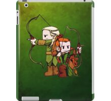 Little Legolas and Tauriel off on an Adventure iPad Case/Skin