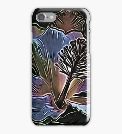 Electric Hibiscus iPhone Case/Skin