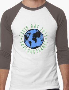 Save Our Planet Earth 2015 Men's Baseball ¾ T-Shirt