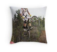 Jumping High Throw Pillow