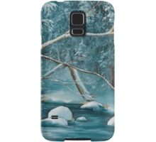 Winter Snow Samsung Galaxy Case/Skin