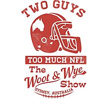 Two Guys Too Much NFL Red Edition Photographic Print