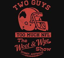 Two Guys Too Much NFL Red Edition Unisex T-Shirt