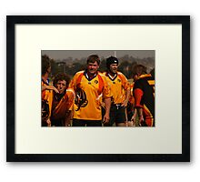 Masters Games - Rugby Union 2009 Framed Print