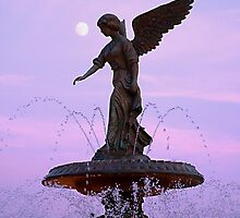 Lake Geneva angel by triciamary