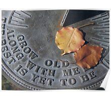 Anniversary Sundial Poster