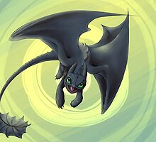 toothless variation 2 by lucelic