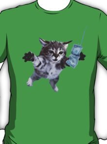 Awesome Grunge cat.  T-Shirt