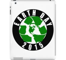 2015 Earth Day Recycle Design iPad Case/Skin