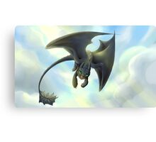 toothless variation 3 Canvas Print