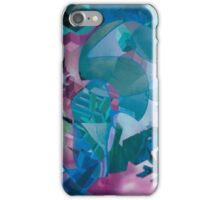 Aurora in Blue iPhone Case/Skin