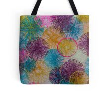 Multi-Colored Circles  Tote Bag