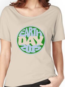 Earth Day 2 Color Design Women's Relaxed Fit T-Shirt