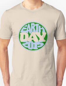 Earth Day 2 Color Design Unisex T-Shirt