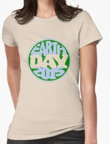 Earth Day 2 Color Design T-Shirt