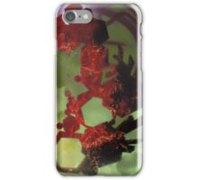 Untitled in red and green iPhone Case/Skin