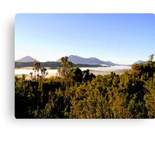 Clouds in the Valley Canvas Print