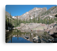 Hallet Peak Rocky Mountain National Park Canvas Print