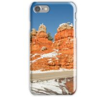 Entrance to Red Canyon on Highway 12 in Utah iPhone Case/Skin