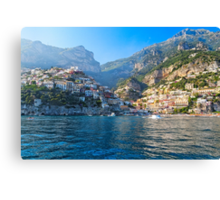 Positano Morning View Canvas Print