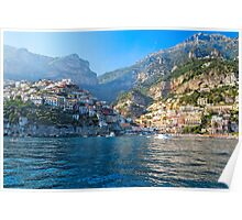 Positano Morning View Poster