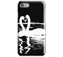 Black & White Swan iPhone Case/Skin