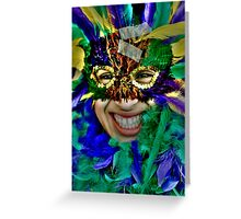 Fat Tuesday Greeting Card