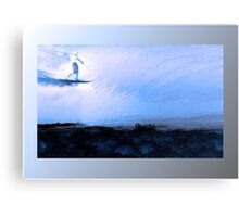 Silver Surfer II Canvas Print