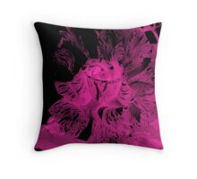 Inverted Rose Throw Pillow