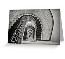 Staircase Perspective Greeting Card