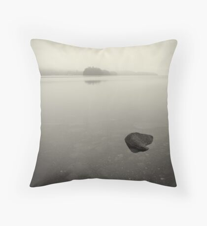 wade in the water Throw Pillow