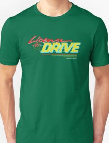 Retro License to Drive Design by Nuance Art Unisex T-Shirt