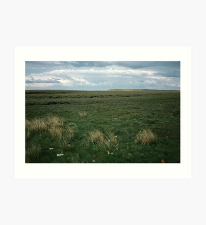 Wadsworth Moor West Yorkshire England 19840603 0058m Art Print