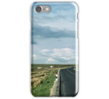 Road on Wadsworth Moor West Yorkshire England 19840603 0062m iPhone Case/Skin