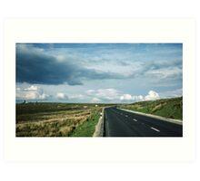 Road on Wadsworth Moor West Yorkshire England 19840603 0062m Art Print
