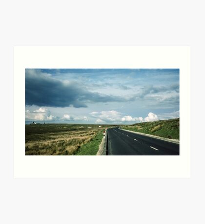 Road on Wadsworth Moor West Yorkshire England 19840603 0062m Art Print