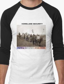 Homeland Security Men's Baseball ¾ T-Shirt