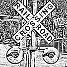 Railroad Crossing by MichelleR