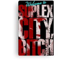 There's an F5 storm in suplex city.  Canvas Print