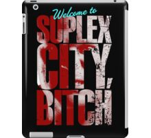 There's an F5 storm in suplex city.  iPad Case/Skin