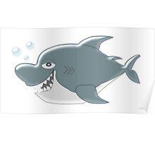 Shark Design Poster